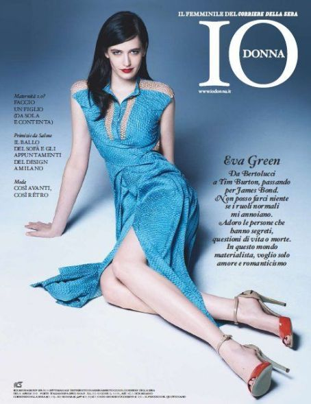Eva Green - Io Donna Magazine Cover [Italy] (14 April 2012)
