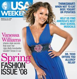 Vanessa Williams - USA Weekend Magazine [United States] (23 March 2008)