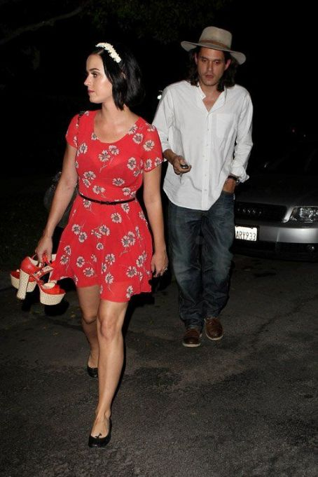 Katy Perry and John Mayer  out in Los Feliz, CA (August 11)