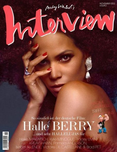 Halle Berry - Interview Magazine Cover [Germany] (November 2012)
