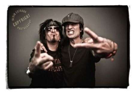 Nikki Sixx&Tommy Lee