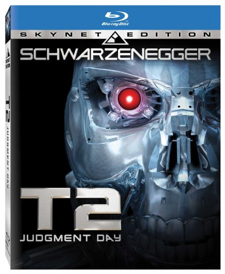 Terminator 2: Judgment Day erminator 2 Skynet Edition Blu-ray Flat Box Art