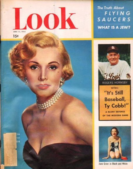 Zsa Zsa Gabor - Look Magazine [United States] (17 June 1952)
