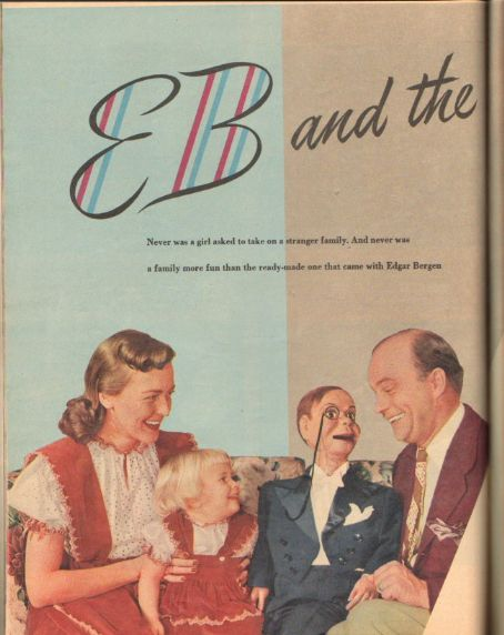 Edgar Bergen Radio Mirror Magazine Pictorial December 1948
