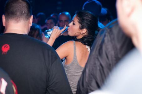 Selena Gomez blew off steam with her mom at a club in Bulgaria, May 18