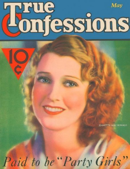 Jeanette MacDonald - True Confessions Magazine [United States] (May 1932)