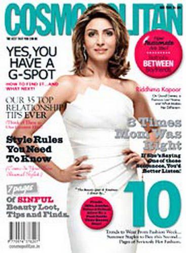 Riddhima Kapoor - Cosmopolitan Magazine [India] (May 2009)