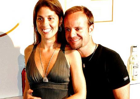 Silvana Barrichello Rubens Barrichello and