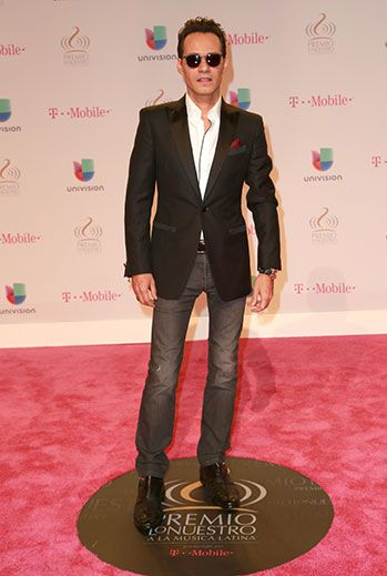 Marc Anthony: Univision's 28th Edition of Premio Lo Nuestro A La Musica Latina - Red Carpet