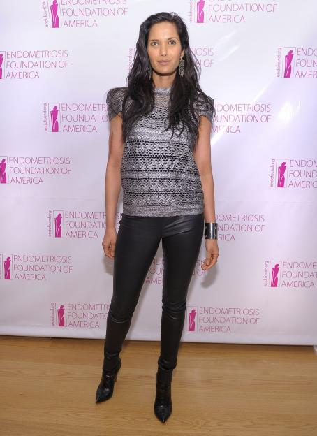 Padma Lakshmi - Endometriosis Foundation Of America party in NYC, December 21, 2010