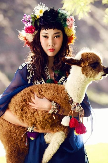 Han Hye-jin  - Vogue Magazine Pictorial [Korea, North] (July 2012)