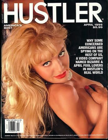 Hustler Magazine [United States] (April 1995) Magazine Cover Photo