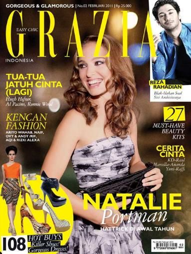 Natalie Portman - Grazia Magazine Cover [Indonesia] (February 2011)