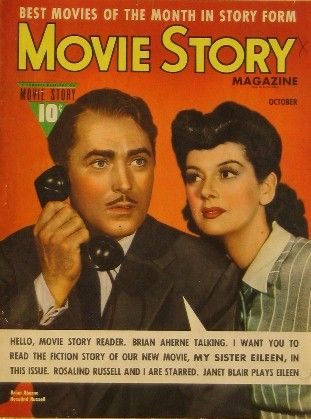 Rosalind Russell - Movie Story Magazine [United States] (October 1942)