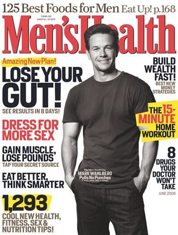 Mark Wahlberg - Men's Health Magazine [United States] (June 2008)