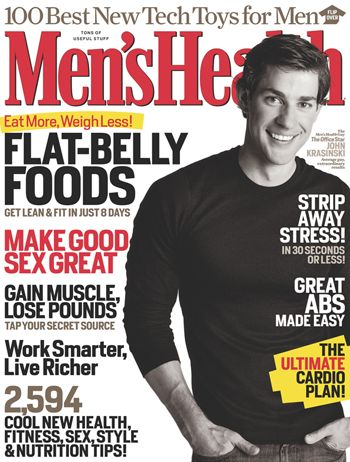 John Krasinski - Men's Health Magazine [United States] (December 2007)