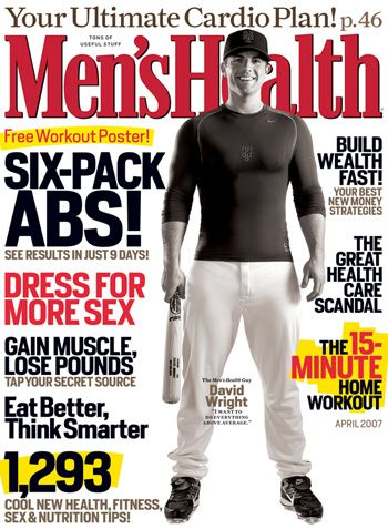 David Wright - Men's Health Magazine [United States] (April 2007)
