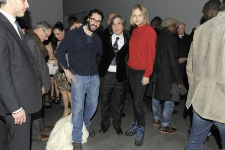Leelee Sobieski - George Condo VIP & Opening in New York - 25.01.2011