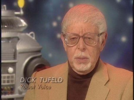 Dick Tufeld... Lost In Space Robot Dead