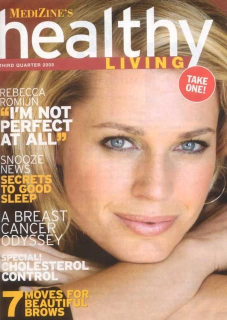 Rebecca Romijn - Health & Living Magazine Cover [United States] (August 2005)