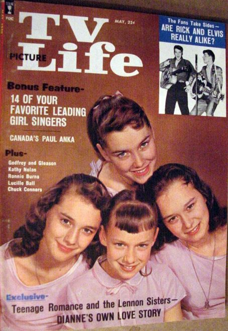Peggy Lennon - TV Picture Life Magazine [United States] (May 1959)