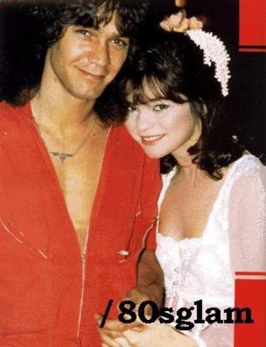 Edward Van Halen Valerie Bertinelli and Eddie Van Halen