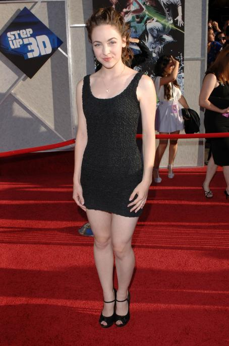 Brittany Curran - Los Angeles Premiere Of 'Step Up 3D' Held At The El Capitan Theatre On August 2, 2010