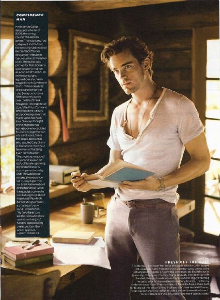 Matt Bomer - GQ Magazine [United States] (October 2010)