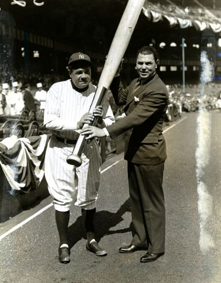 Babe Ruth  and Jack Dempsey