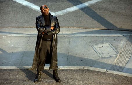Samuel L. Jackson star as Nick Fury in action sci-fi from Paramount Pictures' Iron Man 2.