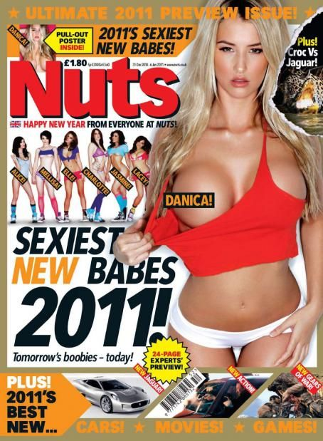 Danica Thrall  - Nuts UK - 31 December 2010