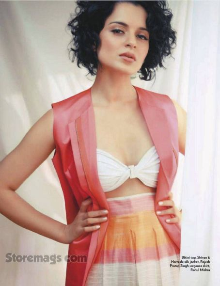 Kangana Ranaut Marie Claire India January 2012