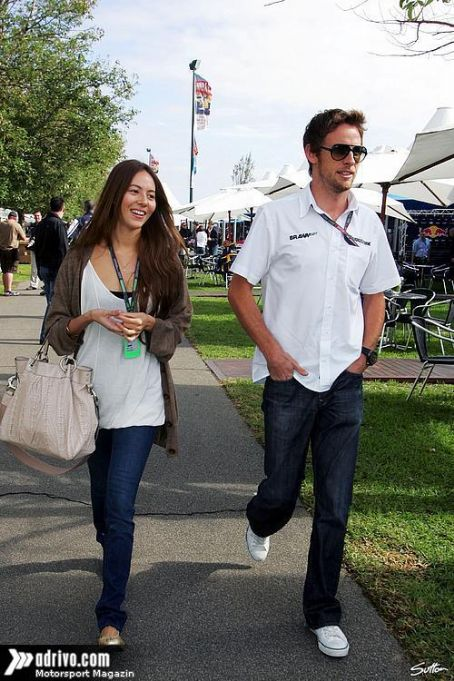 Jessica Michibata Jenson Button and
