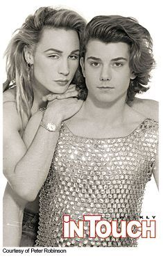 Marilyn and Gavin Rossdale