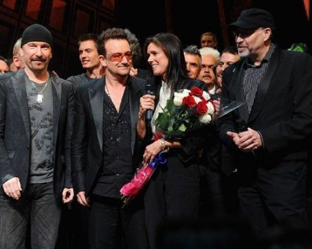 "Bono: ""Spider-Man Turn Off The Dark"" Opening Night"