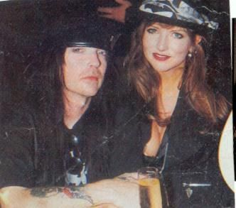 Robbie Mantooth Robbie Lauren Mantooth and Mick Mars