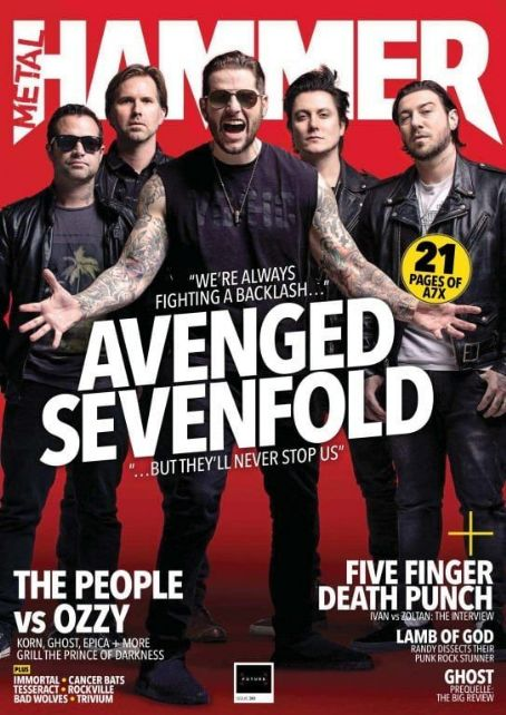 Avenged Sevenfold - Metal&Hammer Magazine Cover [United Kingdom] (July 2018)