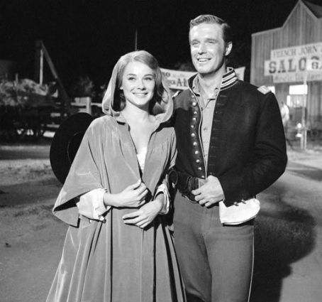 Hope Lange & George Peppard