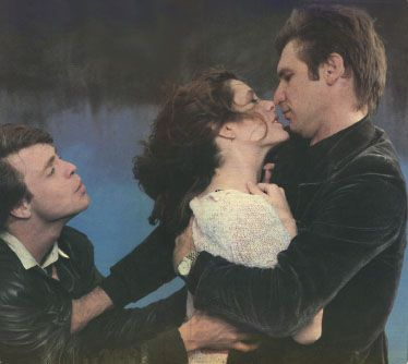 Mark Hamill Carrie Fisher, Harrison Ford and  in Rolling Stone Magazine (1980).