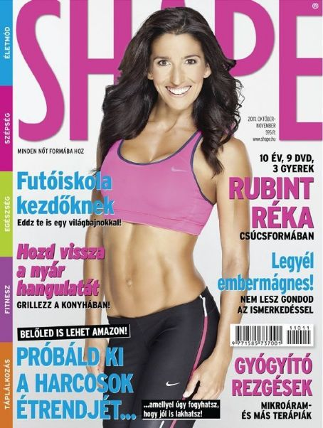 Shape Magazine Cover [Hungary] (October 2011)
