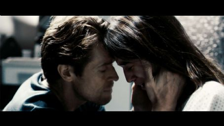 She Willem Dafoe with Charlotte Gainsbourg in Antichrist.