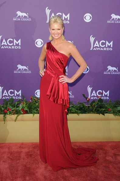 Nancy O'Dell arrives at the 47th Annual Academy Of Country Music Awards