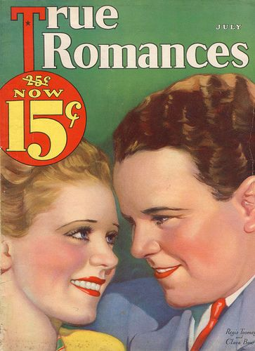 Clara Bow - True Romances Magazine [United States] (July 1932)