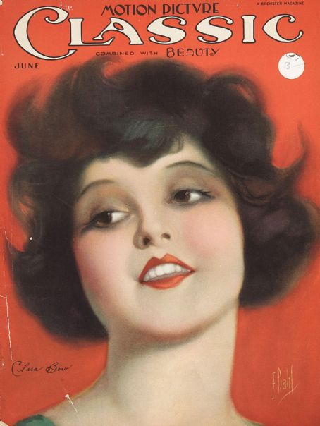 Clara Bow - Motion Picture Classic Magazine [United States] (June 1925)