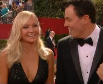 Seth MacFarlane and Katie Sah