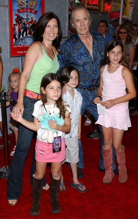 David Carradine  & Family in 2005