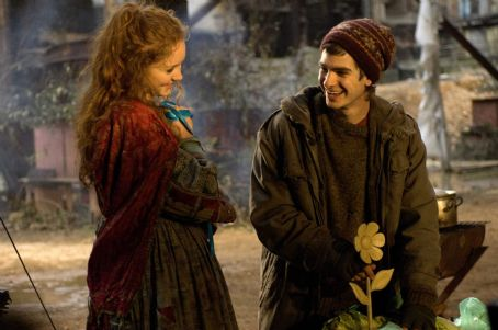 Andrew Garfield Left to Right: Lily Cole as Valentina,  as Anton. Photo taken by Liam Daniel, Courtesy of Sony Pictures Classics