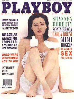 Shannen Doherty - Playboy Magazine Cover [South Africa] (May 1994)