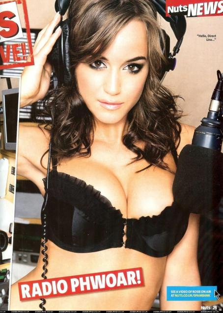 Rosie Jones  - Nuts Magazine May 2009 Scans
