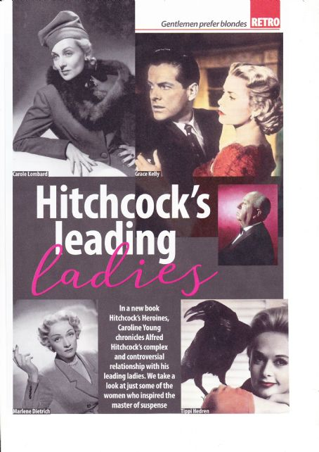 Alfred Hitchcock - Yours Retro Magazine Pictorial [United Kingdom] (18 October 2018)
